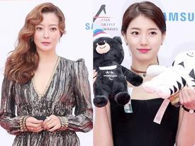 Thảm đỏ 'Asia Artist Awards': Kim Hee Sun lộng lẫy lấn át dàn mỹ nhân trẻ
