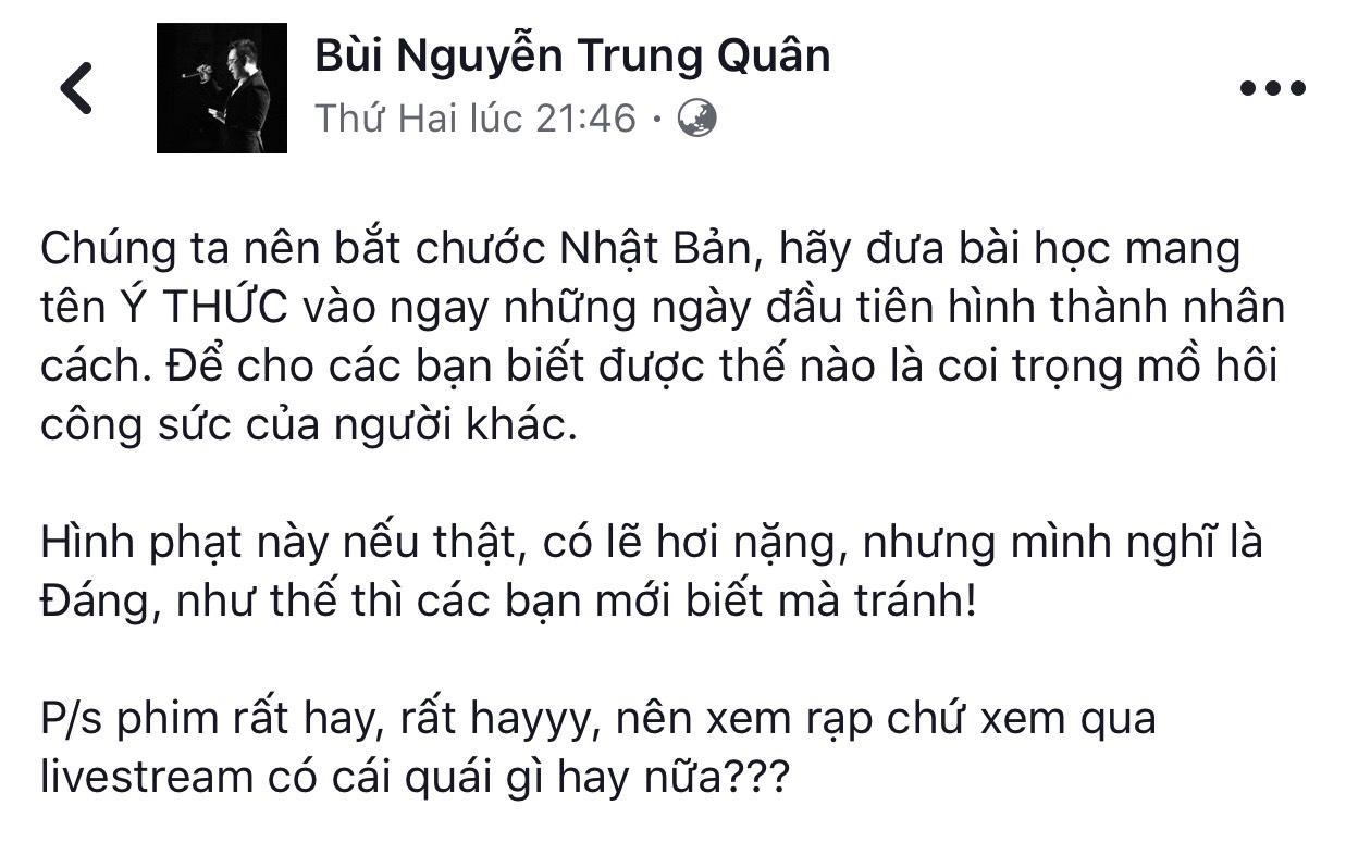 Trấn Thành và dàn sao Việt ủng hộ Ngô Thanh Vân xử tới bến kẻ livestream lén-4