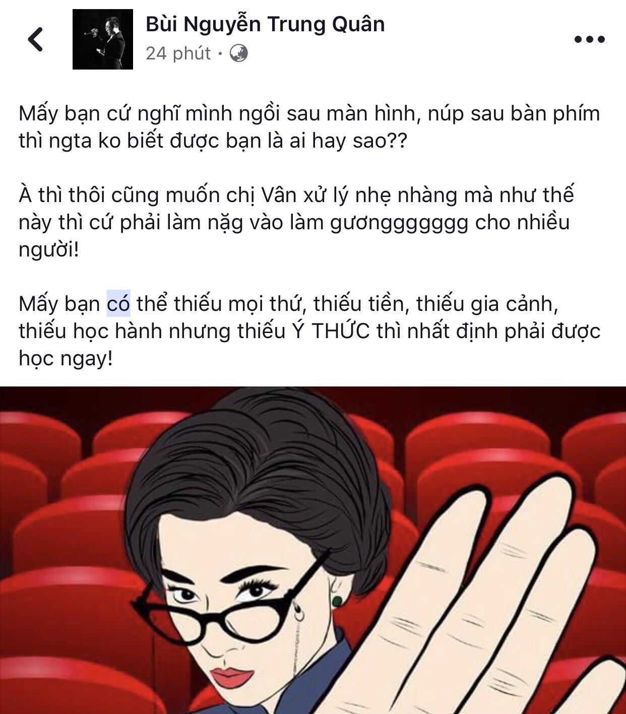 Trấn Thành và dàn sao Việt ủng hộ Ngô Thanh Vân xử tới bến kẻ livestream lén-5