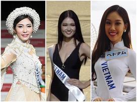 Hành trình thất bại triền miên của người đẹp Việt trên đấu trường Hoa hậu Quốc Tế