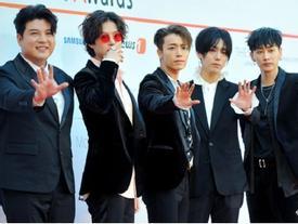 Dàn sao lộng lẫy đã xuất hiện, Asia Artist Awards 2017 vẫn phải tạm hoãn vì động đất