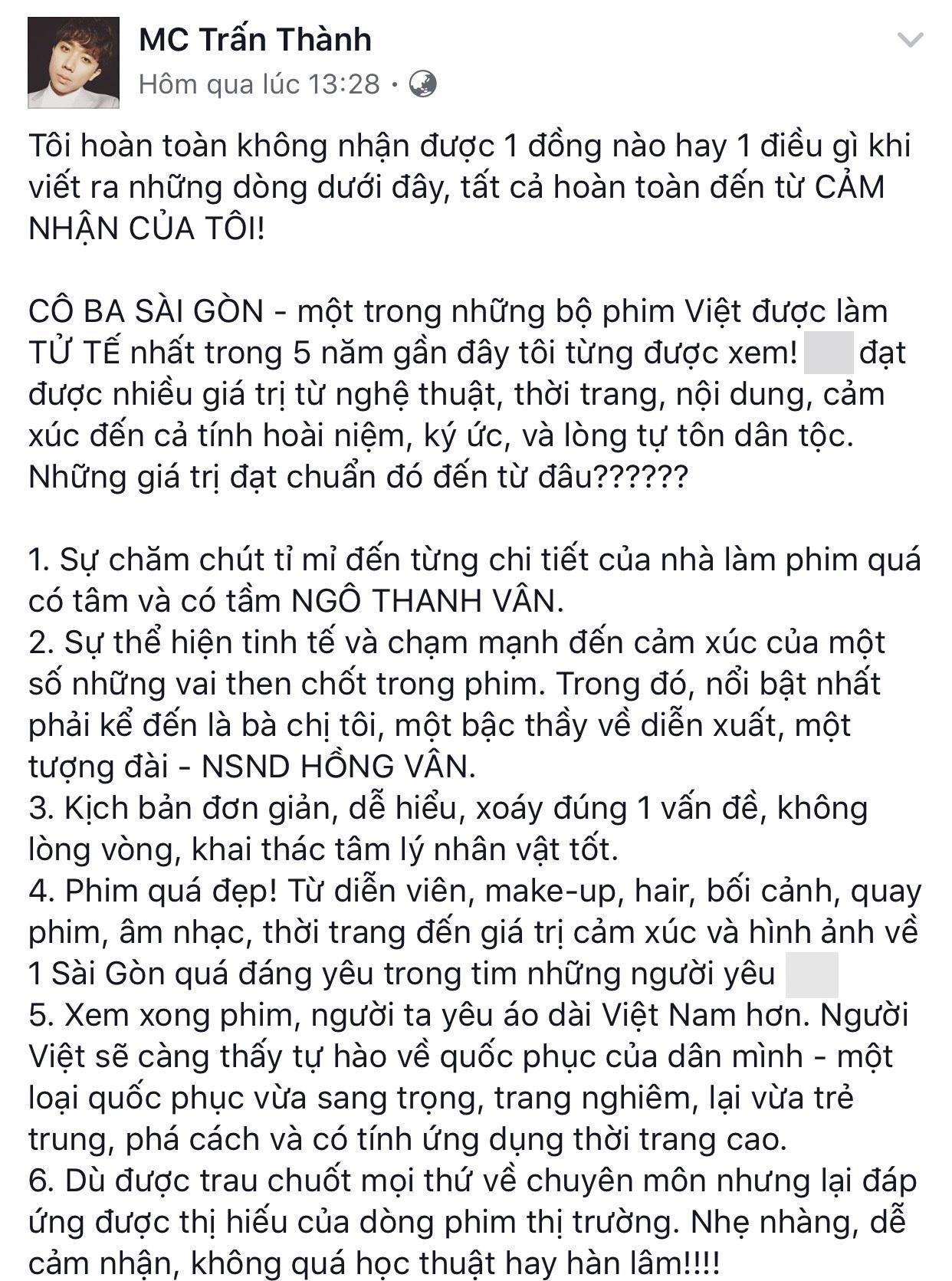 Trấn Thành và dàn sao Việt ủng hộ Ngô Thanh Vân xử tới bến kẻ livestream lén-2