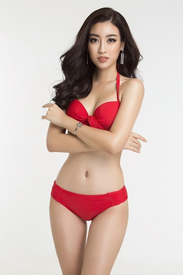 Đỗ Mỹ Linh diện bikini khoe đường cong nóng bỏng trước chung kết Miss World 2017-3