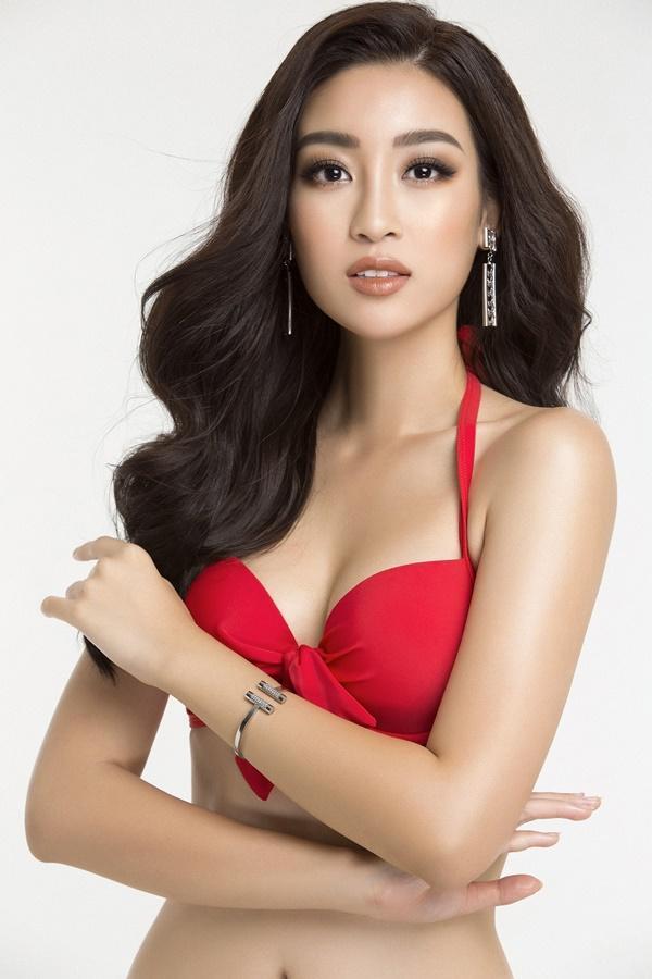 Đỗ Mỹ Linh diện bikini khoe đường cong nóng bỏng trước chung kết Miss World 2017-4