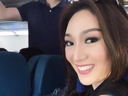 Có mặt chớp nhoáng tại Việt Nam trước khi lên đường sang Campuchia, Tân Hoa hậu Trái Đất gây thất vọng với nhan sắc kém nổi bật