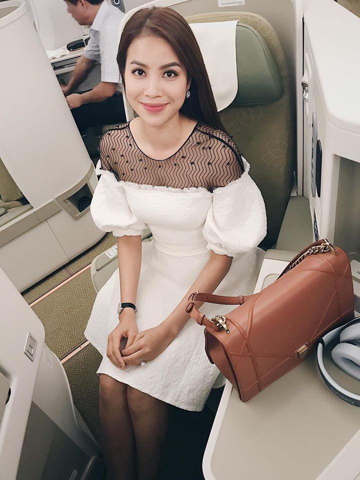 Tin sao Việt 16/11: Quế Vân tự tin khoe nhan sắc ở ngoài đẹp hơn trên ảnh-2