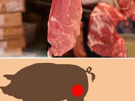 5 miếng thịt ngon nhất trên con lợn: Bạn đã biết để chọn mua thịt lợn ngon?