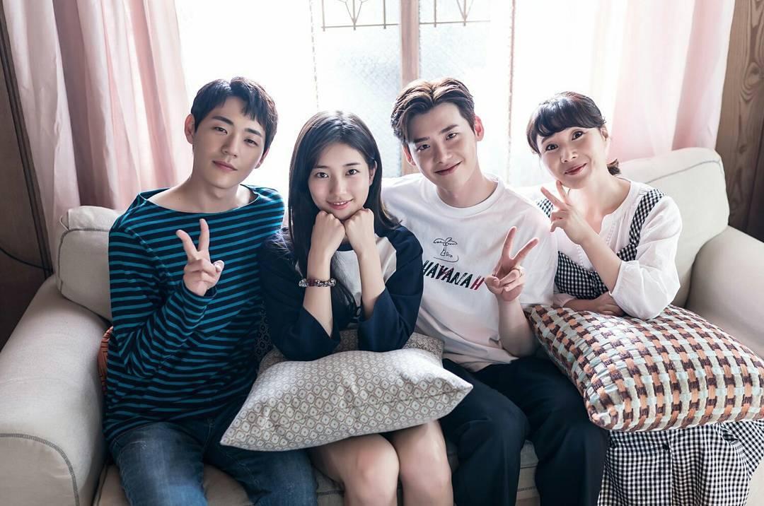 Khi nàng say giấc tập cuối: Lee Jong Suk hôn Suzy cực ngọt ngào-12
