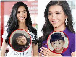 Đọ nhan sắc thời 'em chưa 18' của dàn thí sinh Hoa hậu Hoàn vũ Việt Nam 2017