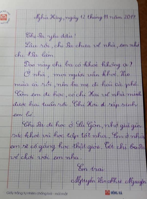 Vào mùa cả rồi mà chị Ba chưa về…: Lá thư xúc động khiến ai đọc cũng nhớ nhà-1