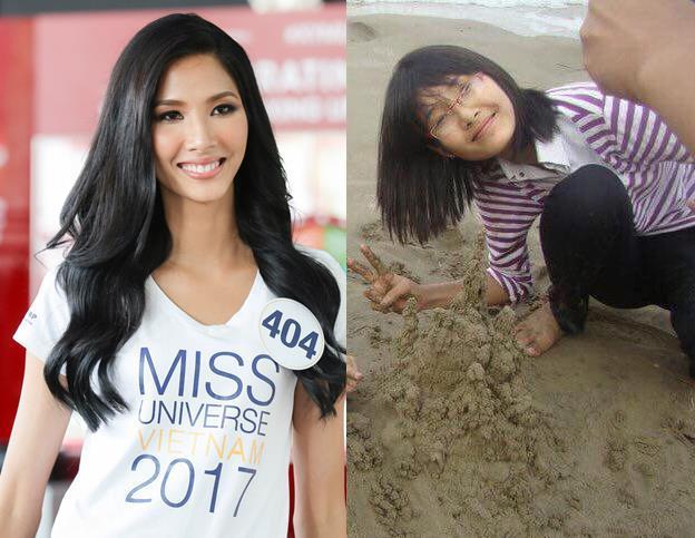 Đọ nhan sắc thời em chưa 18 của dàn thí sinh Hoa hậu Hoàn vũ Việt Nam 2017-1
