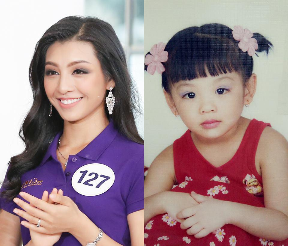 Đọ nhan sắc thời em chưa 18 của dàn thí sinh Hoa hậu Hoàn vũ Việt Nam 2017-3