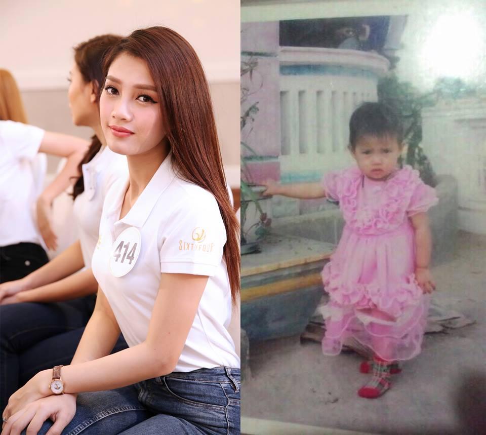 Đọ nhan sắc thời em chưa 18 của dàn thí sinh Hoa hậu Hoàn vũ Việt Nam 2017-4