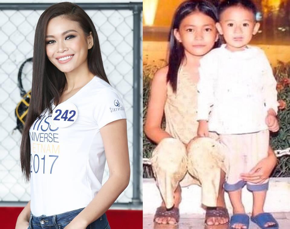Đọ nhan sắc thời em chưa 18 của dàn thí sinh Hoa hậu Hoàn vũ Việt Nam 2017-6