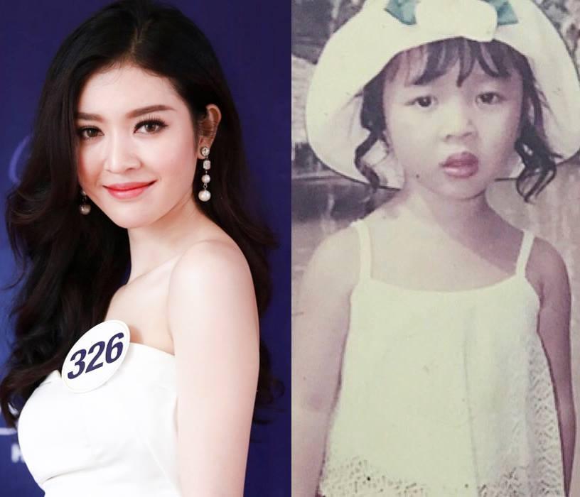 Đọ nhan sắc thời em chưa 18 của dàn thí sinh Hoa hậu Hoàn vũ Việt Nam 2017-13