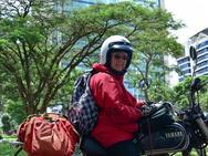 Người phụ nữ 54 năm đi du lịch bằng xe máy