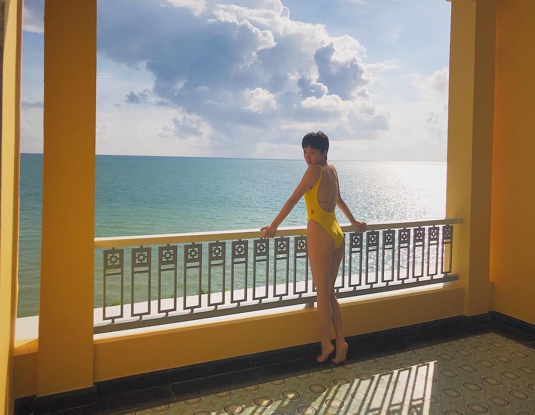 Tin sao Việt: Tóc Tiên tiết lộ bí mật phía sau bức hình sexy-1