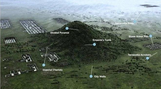 Những bí ẩn về kim tự tháp cổ đại Trung Quốc hàng nghìn năm vẫn chưa có lời giải-9