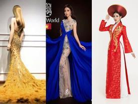 Hé lộ hình ảnh đầu tiên về trang phục dạ hội Đỗ Mỹ Linh sẽ diện trong đêm chung kết