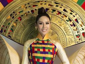 Cận cảnh quốc phục hoành tráng được Nguyễn Thị Loan mang tới Miss Universe 2017
