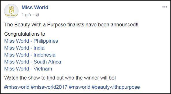ĐỘC QUYỀN: Giám khảo Miss World 2017 bật mí 90% Đỗ Mỹ Linh sẽ thắng giải Hoa hậu Nhân ái-1