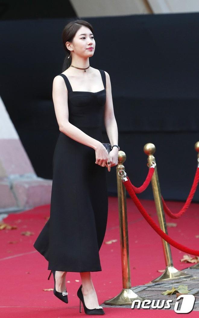 Cùng một chiếc đầm Dior: Triệu Lệ Dĩnh bị chê tới tấp, Suzy thì đẹp rạng ngời dù đã chia tay Lee Min Ho-1
