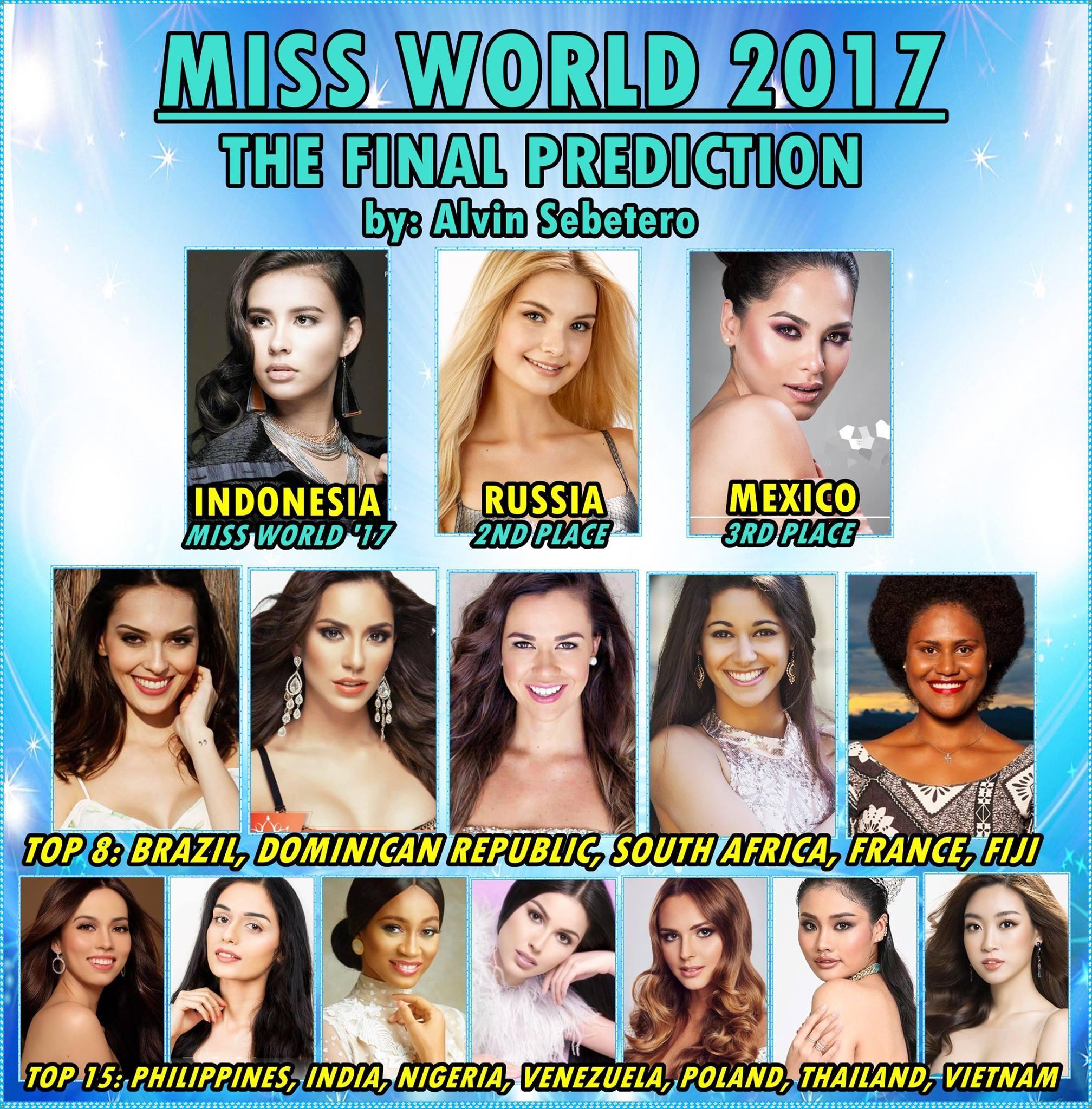 Đỗ Mỹ Linh góp mặt trên các bảng xếp hạng sắc đẹp sát giờ chung kết Miss World 2017-3