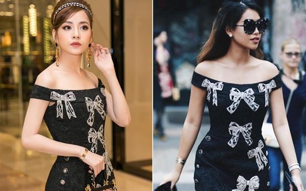 Chi Pu đụng váy 115 triệu với Thảo Tiên - đệ nhất Rich kids of Vietnam, mỗi người mặc lại ra một phong cách-8