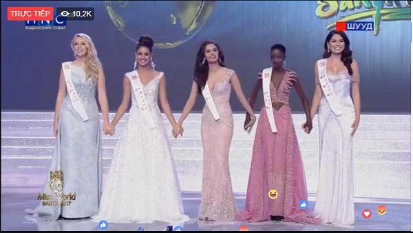 Công bố top 5 người đẹp bước vào vòng thi Ứng xử-1