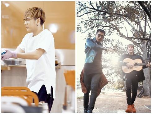 Thầy trò Only C và Lou Hoàng 'chơi lớn' qua tận Úc quay MV