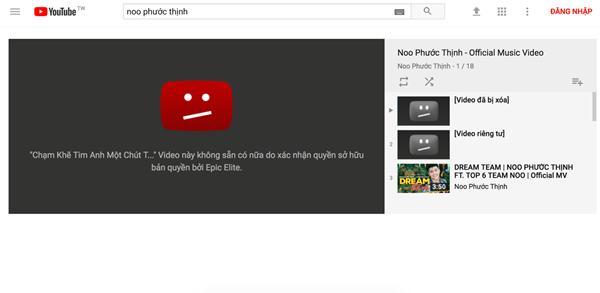 Những MV ca nhạc đạt chục triệu view bất ngờ bị xóa khỏi YouTube khiến người hâm mộ hoang mang-1