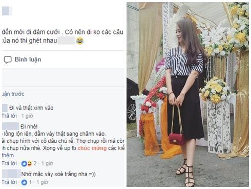 Lên mạng nhờ tư vấn có nên đi ăn cưới người cũ, cô gái trẻ được khuyên 'photo công chứng tiền mừng' cho ngầu