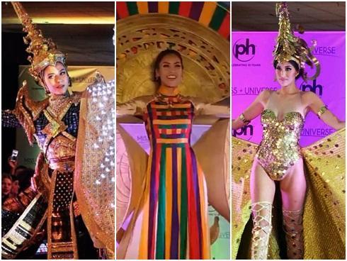 Nguyễn Thị Loan tỏa sáng khi trình diễn quốc phục tại Miss Universe 2017