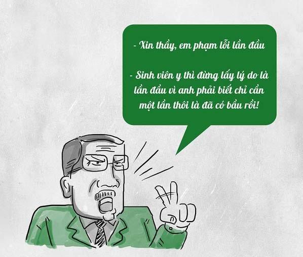 Cười đau ruột với những câu nói bá đạo của thầy cô giáo-3