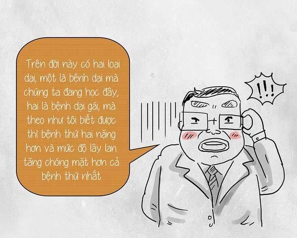 Cười đau ruột với những câu nói bá đạo của thầy cô giáo-6