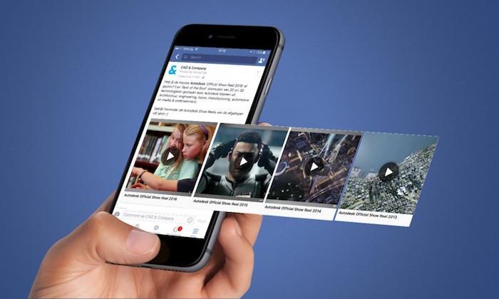 Facebook tạo ứng dụng video riêng, cạnh tranh với YouTube-1