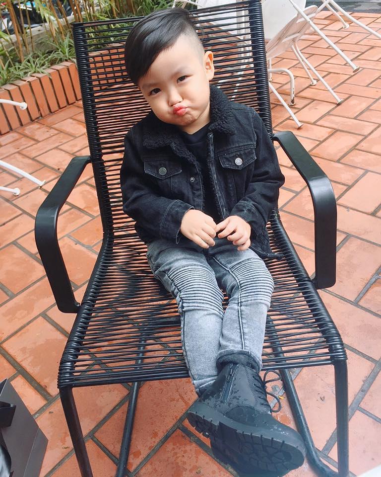 Hot girl - hot boy Việt 20/11: Tâm Tít khoe 1001 biểu cảm siêu yêu của cậu cả-3