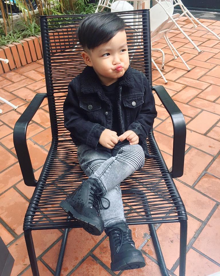 Hot girl - hot boy Việt 20/11: Tâm Tít khoe 1001 biểu cảm siêu yêu của cậu cả-5