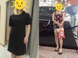 Hành trình giảm 9kg của bà mẹ bỉm sữa bị chồng phản bội vì quá béo