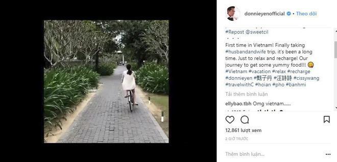 HOT: Tài tử Trùm Hương Cảng Chân Tử Đan đưa vợ tới Hội An nghỉ dưỡng, hào hứng thưởng thức phở và bánh mì-1