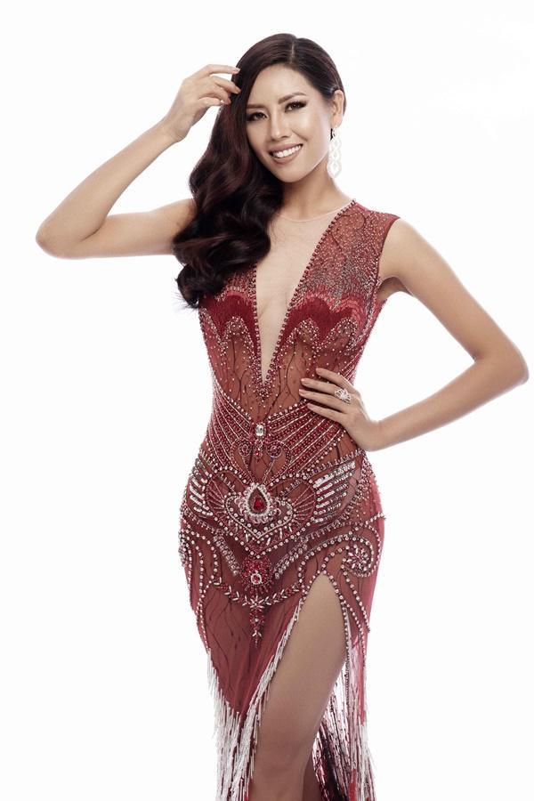 Xem trước loạt trang phục dạ hội của Nguyễn Thị Loan tại Miss Universe 2017-1