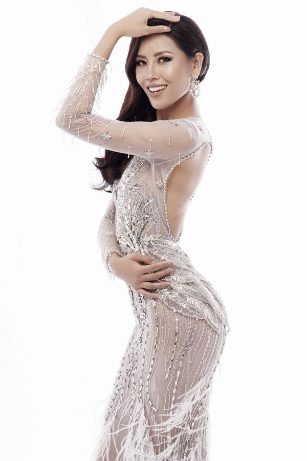 Xem trước loạt trang phục dạ hội của Nguyễn Thị Loan tại Miss Universe 2017-6