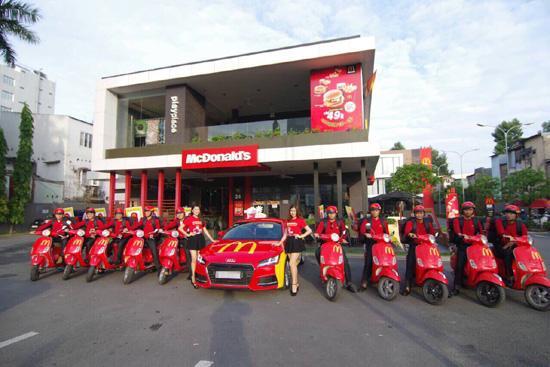 McDonald's Việt Nam ra mắt dịch vụ giao hàng 24/7-2