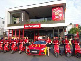 McDonald's Việt Nam ra mắt dịch vụ giao hàng 24/7