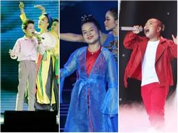 Ba giọng ca nhí giành vé trở lại Chung kết 'Giọng hát Việt nhí' 2017