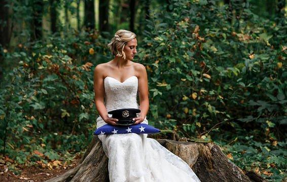 Câu chuyện đau lòng phía sau bộ ảnh cưới chỉ một mình cô dâu-3