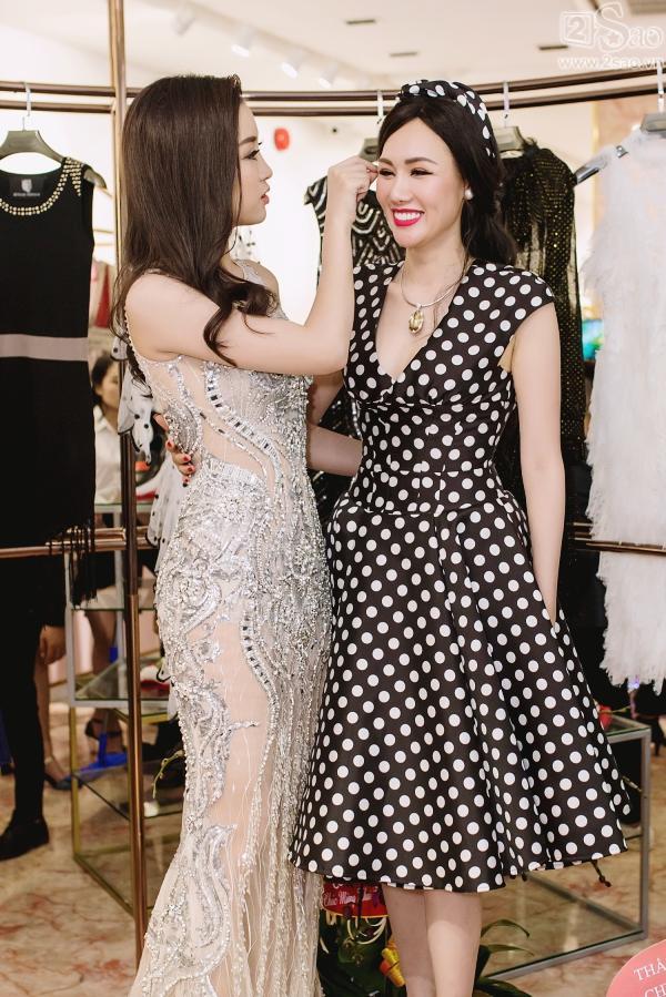 Đỗ Mỹ Linh tận dụng đầm chưa mặc ở Hoa hậu Thế giới để dự sự kiện-5