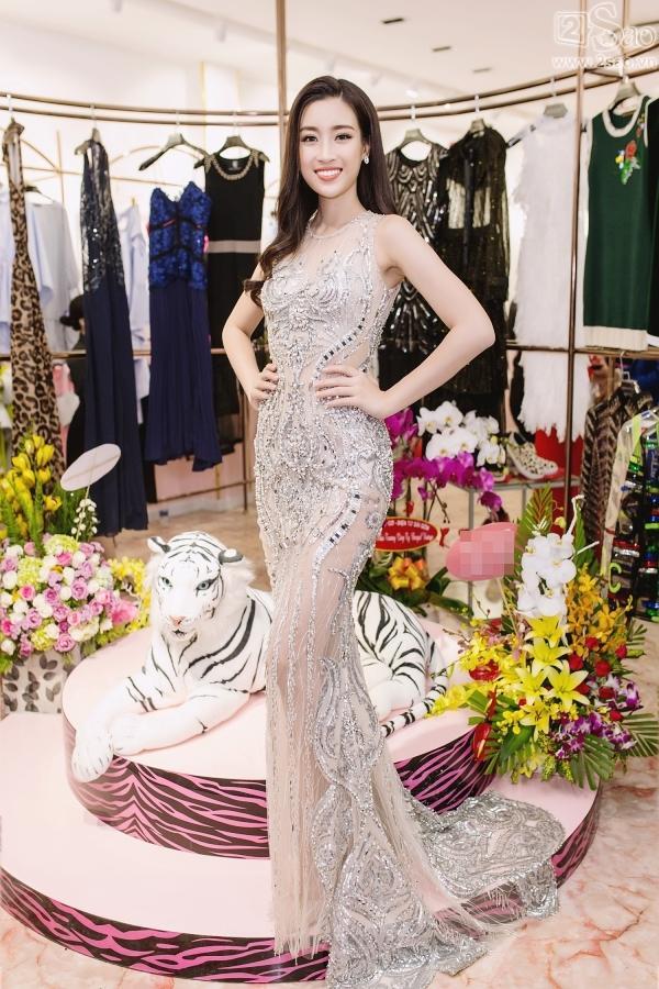 Đỗ Mỹ Linh tận dụng đầm chưa mặc ở Hoa hậu Thế giới để dự sự kiện-1