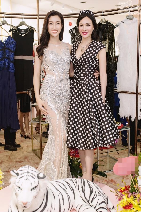 Đỗ Mỹ Linh tận dụng đầm chưa mặc ở Hoa hậu Thế giới để dự sự kiện-4