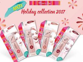 Ra mắt dòng son siêu xinh Holiday Collection